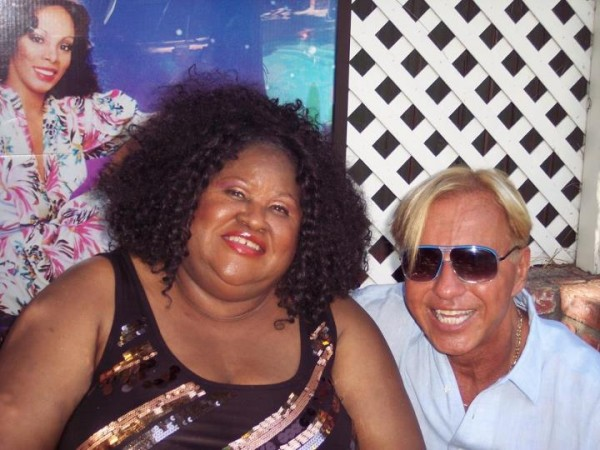 Jean Shy & Scott Snapp at the Donna Summer Memorial